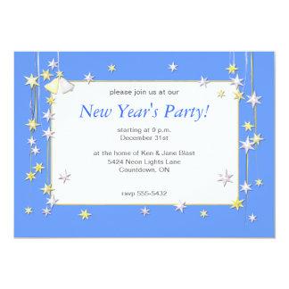 La Feliz Año Nuevo protagoniza el azul Invitación Personalizada
