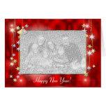 La Feliz Año Nuevo protagoniza (el marco de la Tarjeta De Felicitación