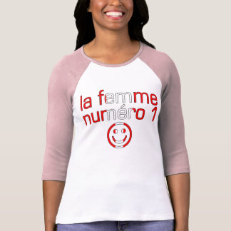 La Femme Numéro 1 - esposa del número 1 en Camisetas