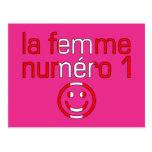 La Femme Numéro 1 - Number 1 Wife in Canadian Post Card