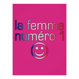 La Femme Numéro 1 - Number 1 Wife in French Poster