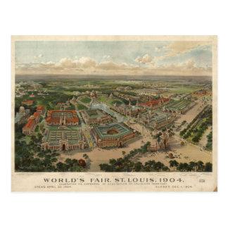 La feria 1904 de mundo de St. Louis Tarjetas Postales