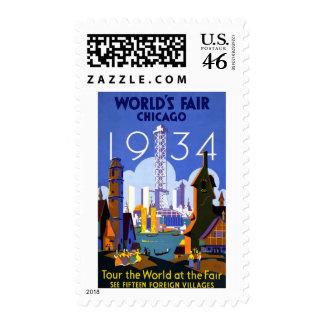 La feria 1934 de mundo de Chicago Envio