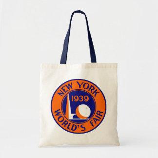La feria 1939 de mundo de Nueva York Bolsa Lienzo