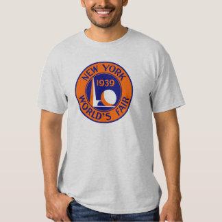 La feria 1939 de mundo de Nueva York Playeras