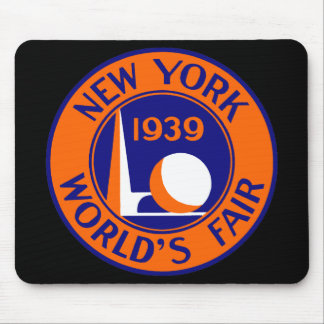 La feria 1939 de mundo de Nueva York Mouse Pad