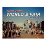 La feria de mundo 1964 postal