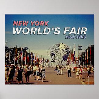 La feria de mundo 1964 póster
