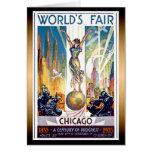 La feria de mundo de Chicago Felicitaciones