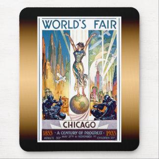 La feria de mundo de Chicago Alfombrilla De Ratón