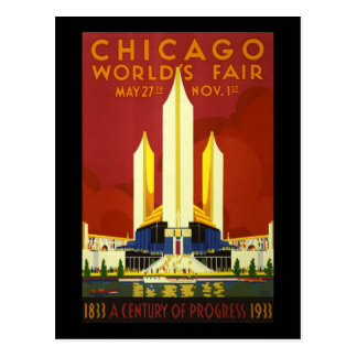 La feria de mundo de Chicago Tarjetas Postales