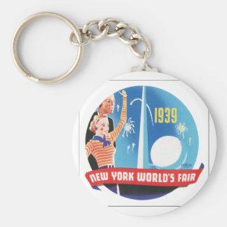 La feria de mundo de Nueva York 1939 Llaveros
