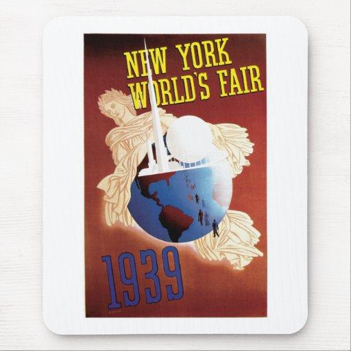 La feria de mundo de Nueva York Alfombrilla De Ratón