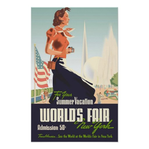 La feria de mundo Nueva York Posters