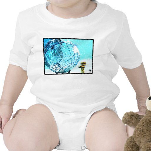 La feria de mundo trajes de bebé