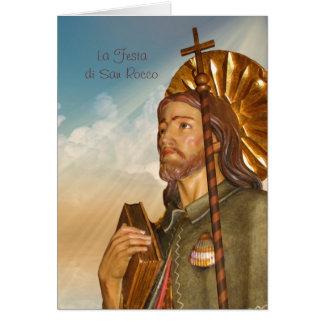 La Festa di San Rocco - Greeting Card - Italian