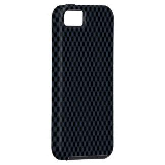 La fibra de carbono iPhone 5 protector