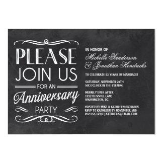 La fiesta de aniversario de la tipografía el | de invitación 12,7 x 17,8 cm