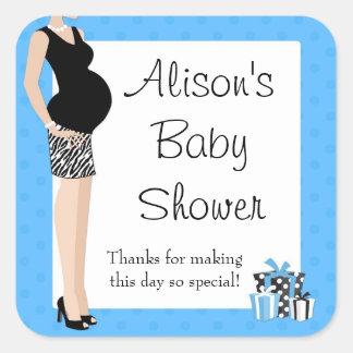 La fiesta de bienvenida al bebé azul le agradece p