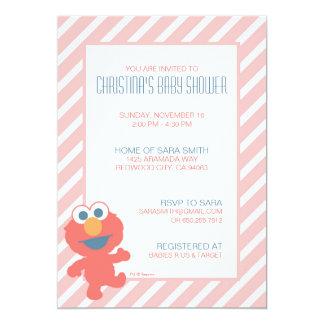 """La fiesta de bienvenida al bebé de Elmo invita Invitación 5"""" X 7"""""""