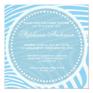 La fiesta de bienvenida al bebé de encargo de la invitación personalizada