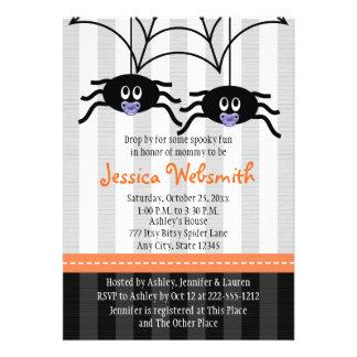 La fiesta de bienvenida al bebé de Halloween de la