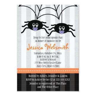 La fiesta de bienvenida al bebé de Halloween de la Anuncio
