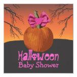 La fiesta de bienvenida al bebé de Halloween Comunicados Personales
