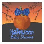 La fiesta de bienvenida al bebé de Halloween Comunicado