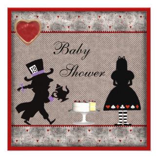 La fiesta de bienvenida al bebé de la fiesta del t invitacion personal