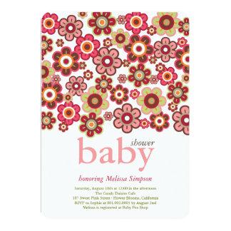 La fiesta de bienvenida al bebé de las floraciones comunicados personales