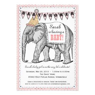 La fiesta de bienvenida al bebé del desfile del ci comunicado personal