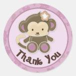 La fiesta de bienvenida al bebé del mono le agrade