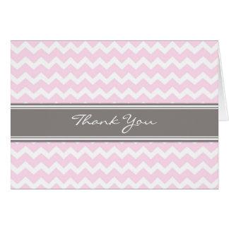 La fiesta de bienvenida al bebé gris rosada de los tarjeta