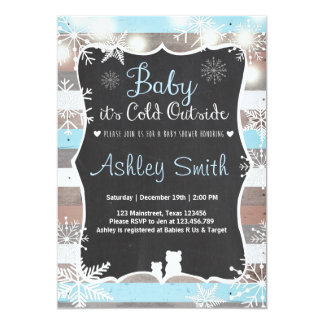 """La fiesta de bienvenida al bebé invita al bebé que invitación 5"""" x 7"""""""