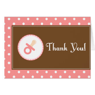 La fiesta de bienvenida al bebé rosa le agradece