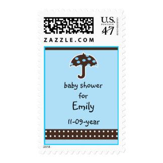 La fiesta de bienvenida al bebé sella el magnesio sello postal