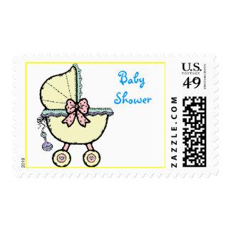 La fiesta de bienvenida al bebé sella el magnesio sellos postales