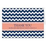 La fiesta de cumpleaños azul coralina de Chevron l Felicitaciones