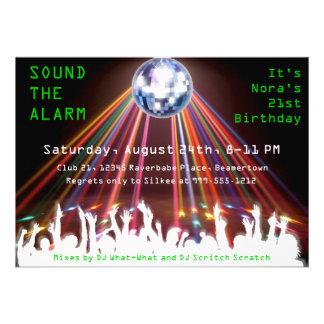 La fiesta de cumpleaños de encargo del club noctur