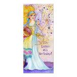 La fiesta de cumpleaños de hadas del confeti invitación 10,1 x 23,5 cm