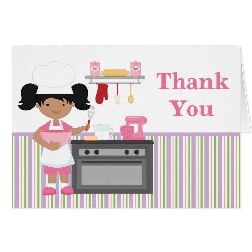 La fiesta de cumpleaños de la hornada le agradece  tarjetas
