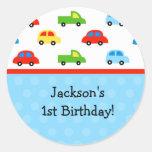 La fiesta de cumpleaños de los camiones de los coc