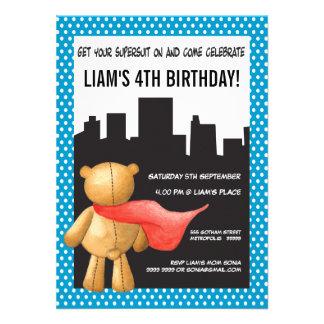 La fiesta de cumpleaños de los muchachos del super comunicados personalizados