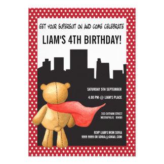 La fiesta de cumpleaños de los muchachos del super comunicado personalizado