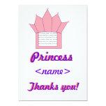 La fiesta de cumpleaños de princesa Any Age le Invitacion Personal