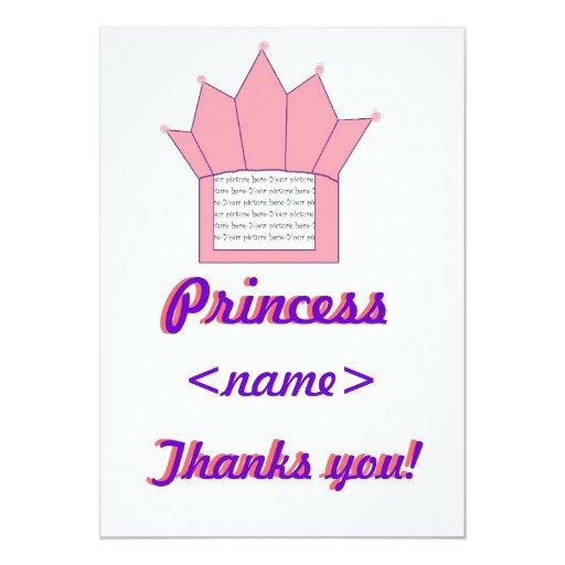 La fiesta de cumpleaños de princesa Crown First le Anuncio