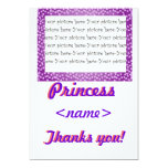 La fiesta de cumpleaños de princesa Mini Hearts Invitación 12,7 X 17,8 Cm