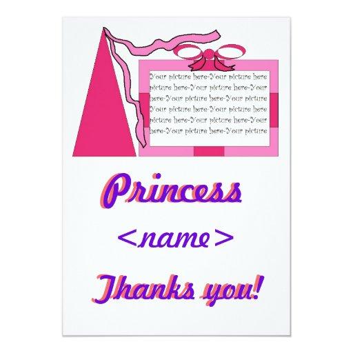 """La fiesta de cumpleaños de princesa Of Any Age le Invitación 5"""" X 7"""""""
