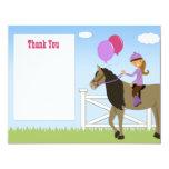 La fiesta de cumpleaños del caballo le agradece comunicados personales